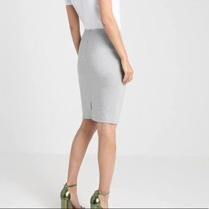The Limited | Light stone gray pencil skirt